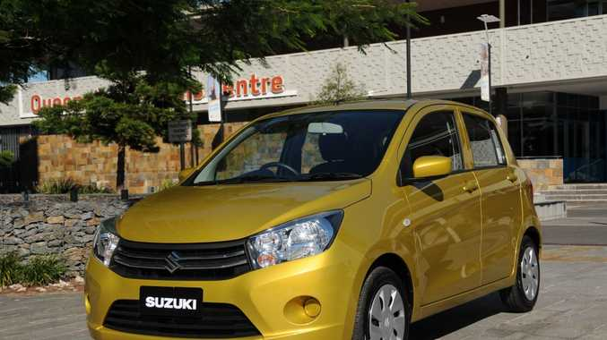 WELL EQUIPPED: Sub-$13,000 Suzuki Celerio has more safety gear and standard kit than luxury cars of 20 years ago.